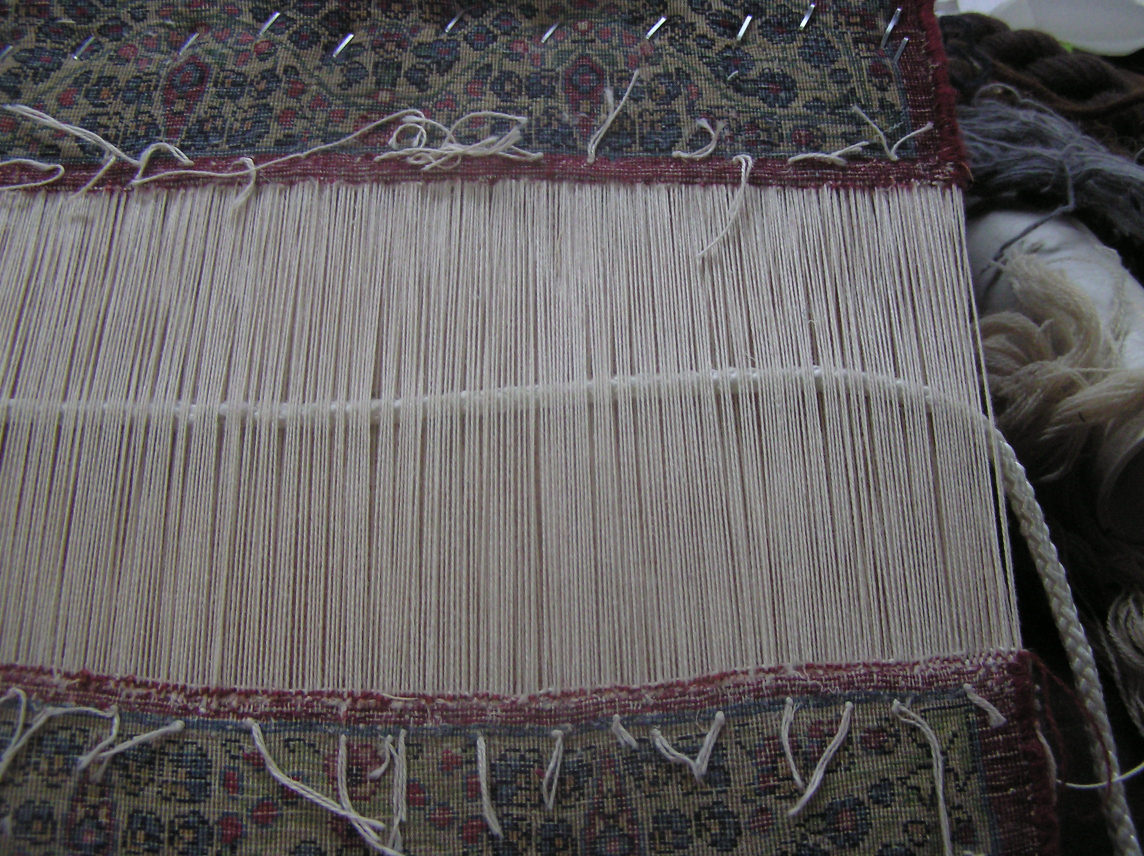 Reconstruction of the fringe requires a technique called sarbafi as shown here.